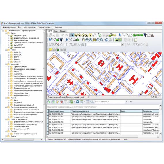 Информационно-аналитическая система «Градоустройство»